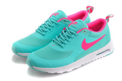 Womens Nike Air Max Thea Green Pink Factory Store